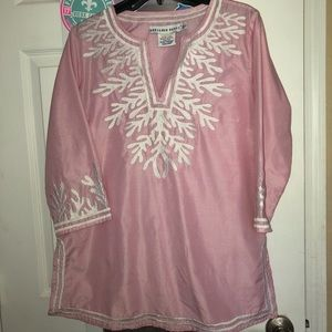 Gretchen Scott Pink Coral Tunic, M
